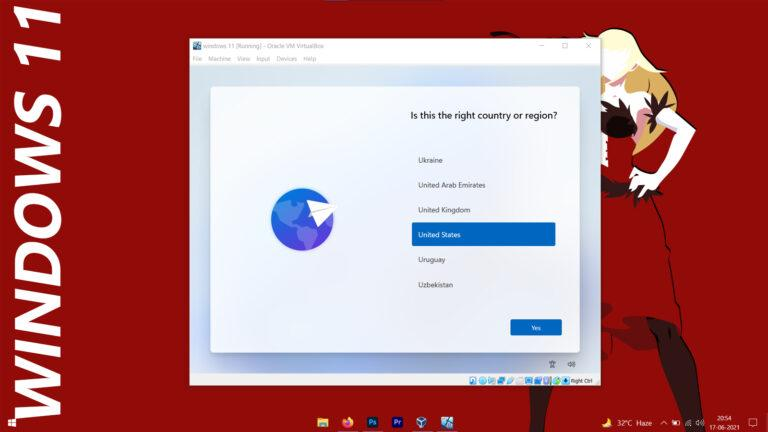 How to Download and Install Windows 11 Pro on VirtualBox
